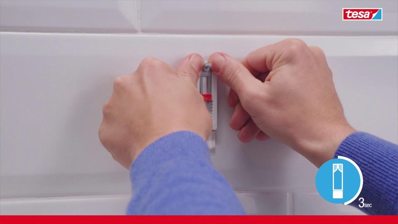 Attache Tableau Sans Percer vis adhésive carrelage & métal tesa® - la solution pour accrocher jusqu'à  3kg sans percer