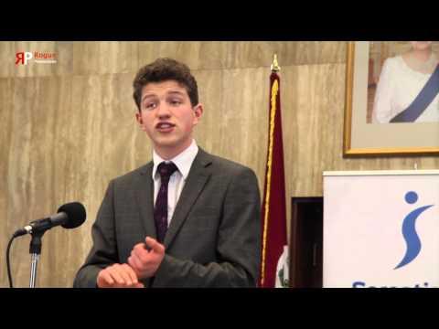 Public Speaking Competition 2014 - Thomas Briggs