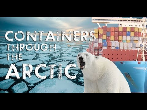 Containers through the North Pole Route? (Arctic Route 2019)