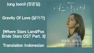 Jung joonil (정준일) – gravity of love (닮아가) lyrics indo where ...