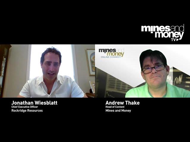 Mines and Money TV - Jonathan Wiesblatt Chief Executive Officer of Rockridge Resources (TSX-V: ROCK)