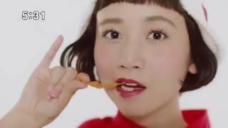 ベビースター かわいいCMダンス 三戸なつめ ハナビラ パンメン おやつカ...