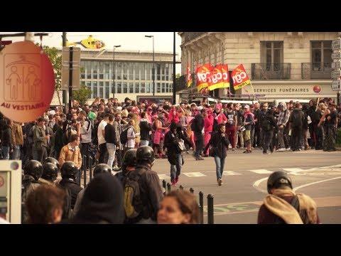 Embuscade à la Nantaise - BACbloc terror - Manif du 12 septembre à Nantes