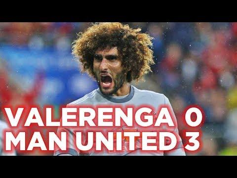 VALERENGA 0-3 MANCHESTER UNITED | GOALS: FELLAINI, LUKAKU, MCTOMINAY