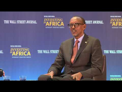 President Kagame attends The Wall Street Journal, Investing in Africa conference (London)