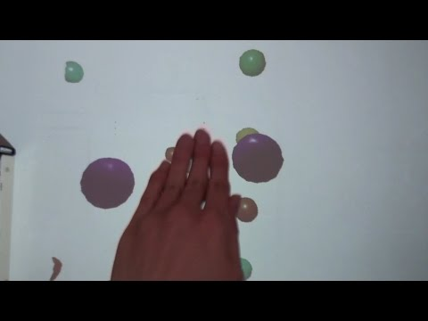 A Pseudo-3D Interactive Projection System Using Motion Parallax