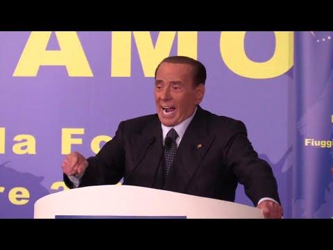 Berlusconi: ''Io di nuovo in campo alle prossime elezioni per l'Italia che amo''