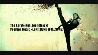 The Karate Kid (Soundtrack) - Position Music Lay It Down