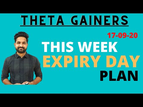 Expiry Trading Strategy/Plan for September 17th | Theta Gainers