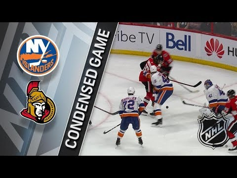 New York Islanders vs Ottawa Senators – Mar. 27, 2018 | Game Highlights | NHL 2017/18. Обзор