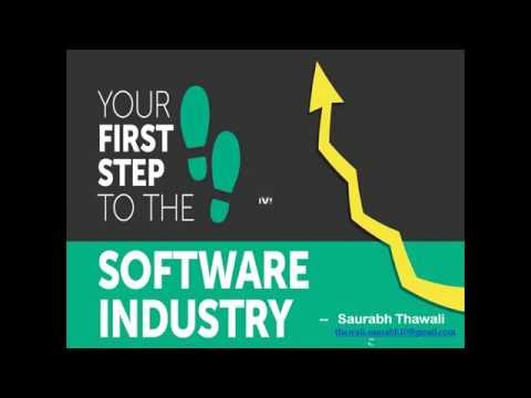 Understand Software Industry basics and different kind of Jo