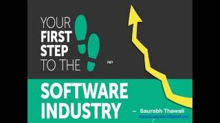 Understand Software Industry basics and different kind of Jobs it has