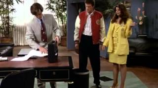 Roger Rees playing Robin Colcord on Cheers (Briefcase paper shredder)