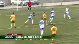 TV SEVERKA   Futbal U15 Žilina Vrútky