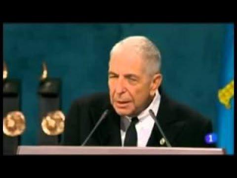 Discurso de Leonard Cohen (subtitulado al español) Premio Príncipe de Asturias