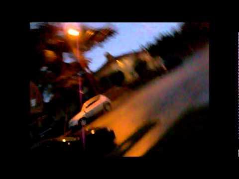 El Monte Lightning Storm - Imitating Dallas Raines From KABC 7