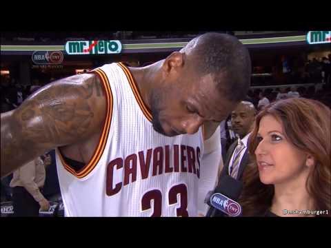 LeBron James' son think Michael Jordan is better, Rachel Nichols asks him about it 4-21-15