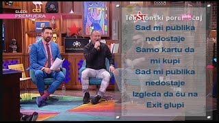Ami G Show S09 - TekStonski poremecaj - Djani - Sve mi tvoje nedostaje