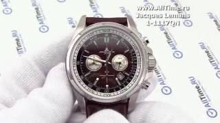 Обзор. Мужские наручные часы Jacques Lemans 1-1117QN с хронографом