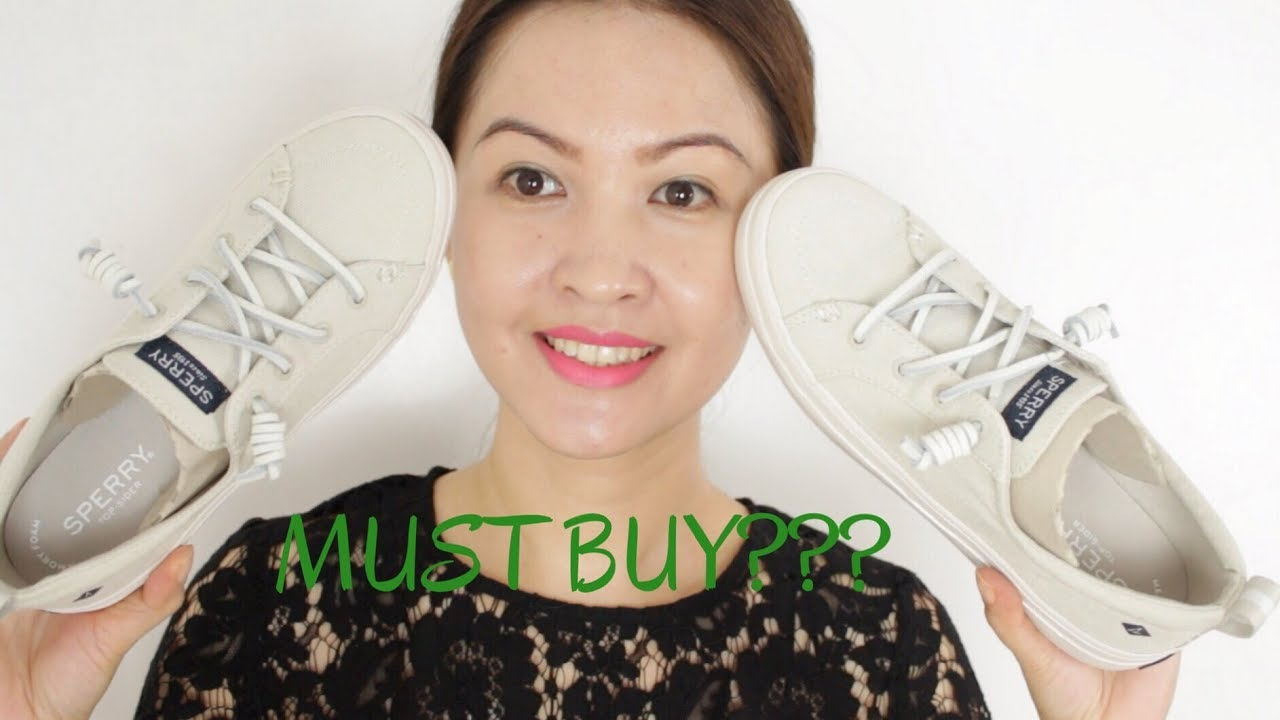1bac701bad9 Sperry Women s Crest Vibe Sneakers - Review - YouTube