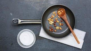 Caraméliser des fruits à coque  – Migusto Tutoriel