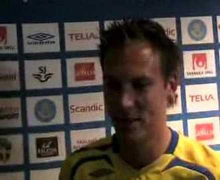 Intervju med Andreas Granqvist