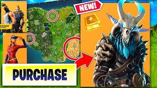 Fortnite Season 5 NEW MAP LOCATIONS! - BUYING ALL 100 TIERS! (RAGNAROK SKIN!)