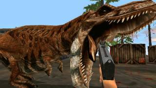 Jurassic Park trespasser T-Rex FINAL SHOWDOWN