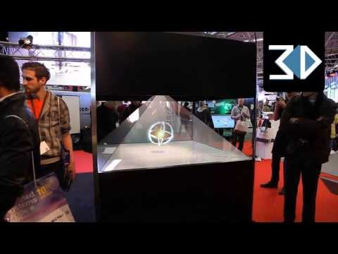 4 Sided Holographic Displays