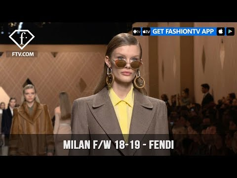 Milan Fashion Week Fall/Winter 18-19 - Fendi | FashionTV | FTV