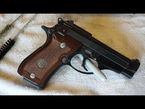 Beretta Model 84 BB (Beretta 84 Cheetah) field strip and clean.