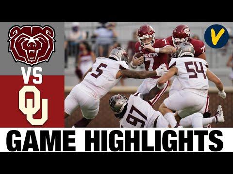 Missouri State Vs #5 Oklahoma Highlights   Wk 2 College Football Highlights   2020 College Football