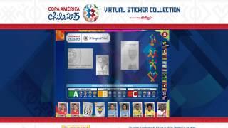 Album Virtual da Copa América Chile 2015 Cavaniiiiiiii
