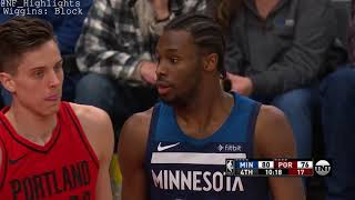 Andrew Wiggins   21 PTS: All Possession Highlights (3/1/2018)