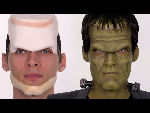 Frankenstein Halloween Makeup Tutorial | Shonagh Scott