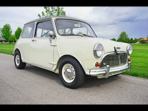 1967 Austin Mini Cooper S Review
