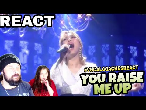 VOCAL COACHES REACT: SOHYANG - YOU RAISE ME UP - IMMORTAL SONGS 2