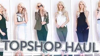 Topshop Haul and Try On!! | Inthefrow
