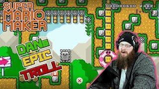 EPIC TROLLING - Super Mario Maker - Oshi Vs. Dan...ROUND 2!