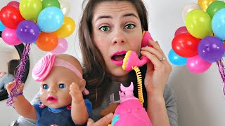 😨Baby Doll Twin's BIRTHDAY RUINED⁉️ 🎂What Happened⁉️🛍