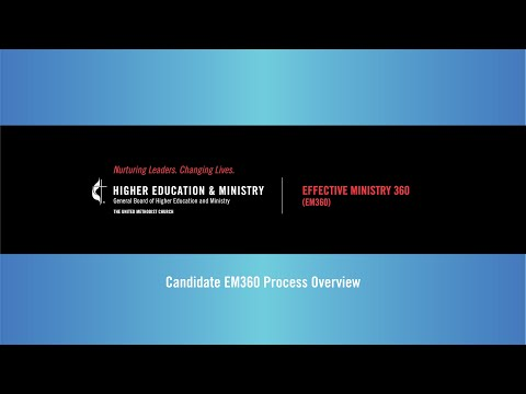 Candidate EM360 Process