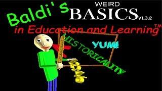 Baldi s WEIRD Basics