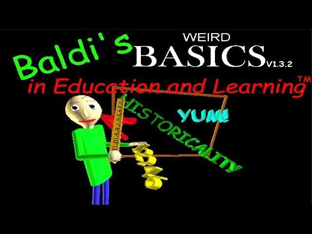 Baldis WEIRD Basics