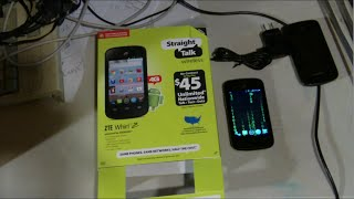 ZTE Whirl 2 Z667G Full Review & Hacks straighttalk Net10 MVJ EP 221