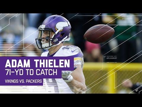 Sam Bradford Rolls Out & Hits Adam Thielen for a 71-Yard TD! | NFL Week 16 Highlights