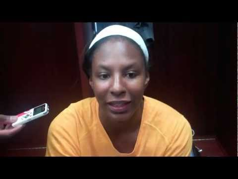 Chicago Sky's Shay Murphy postgame 8.21.12