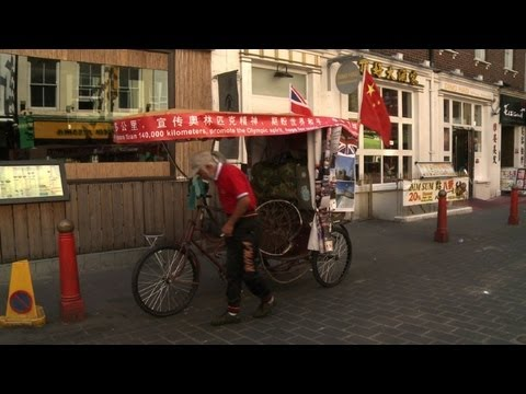 Chinese man reaches London after epic...