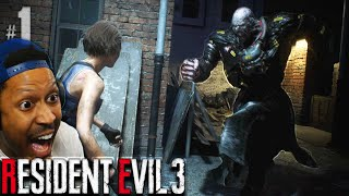 This Dude is SPRINTING Chasing ME!! WOOAAHH!! | Resident Evil 3 - Part 1