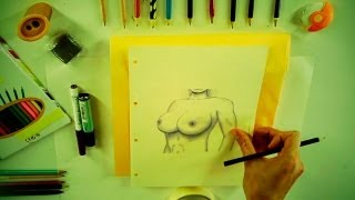 How to draw Boobs (or Breasts) - How 2 Draw: drawing tutorials for everyone