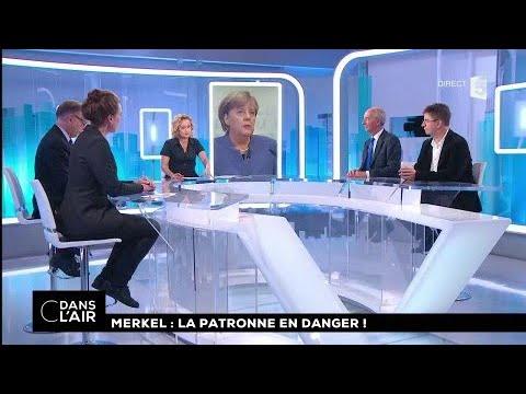 Merkel : la patronne en danger ! #cdanslair 21.11.2017